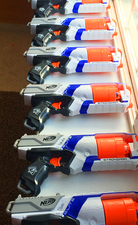 She also purchased plenty of Nerf darts using Wish. Seriously discounted  darts. No, seriously–check it out! Just plan well in advance because  shipping takes ...